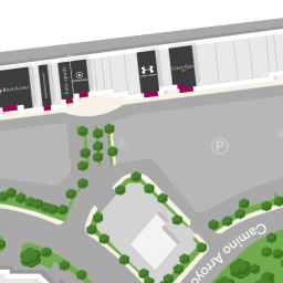 center map featuring abercrombie fitch outlet at gilroy premium