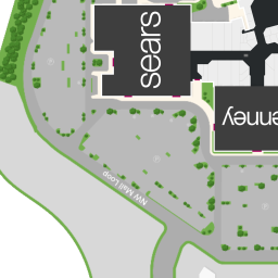 mall map featuring journeys at treasure coast square a simon mall