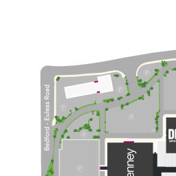 Mall Map of North East Mall a Simon Mall  Hurst TX