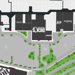 center map featuring adidas outlet store at great malla