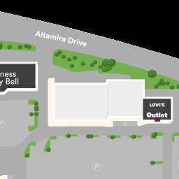 Center Map Featuring US Polo Assn Outlet At Orlando Outlet - Us assn polo map