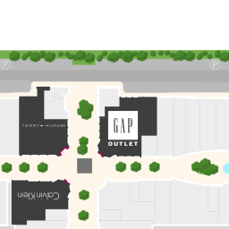 Center Map For Carlsbad Premium Outlets®   A Shopping Center In