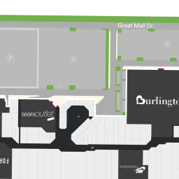 Center Map of Great Mall A Shopping Center In Milpitas CA A