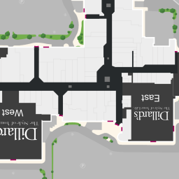 Center Map of Penn Square Mall®   A Shopping Center In Oklahoma