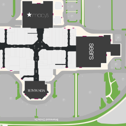 Center Map of Briarwood Mall   A Shopping Center In Ann Arbor, MI