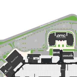 Center Map Featuring Aeropostale at Grapevine Mills® - A ...