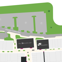 Center Map For Phoenix Premium Outlets®   A Shopping Center In