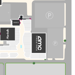 Mall Map Featuring Black Angus Restaurant at Del Amo Fashion Center ...