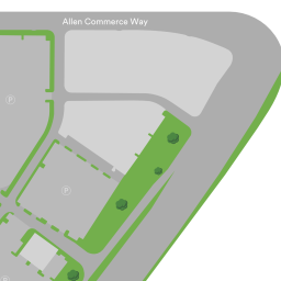 allen outlet mall map