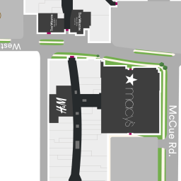 Center Map of The Galleria - A Shopping Center In Houston, TX - A ...