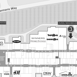 Vaughan Mills Stores Map Premier Outlet Mall