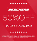 SHOP SKECHERS BOGO 50% OFF SALE!