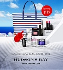 EXCLUSIVELY at HUDSON'S BAY QUEEN STREET LANCÔME Summer Gift from June 26 to July 21.