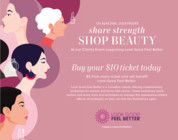 Share Strength, Shop Beauty- At our Charity Event supporting Look Good Feel Better