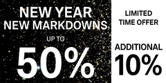 New Year. New Markdowns.