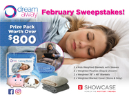 ENTER TO WIN AN $800 Weighted Blanket Prize Pack