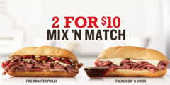 2 for $10 Mix 'n Match