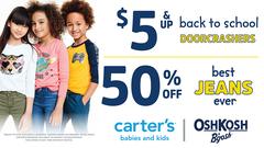 $5 & up Back to School Doorcrashers