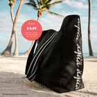 Beach Bag $9.95 with the purchase of $100 of swimwear