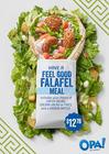 Have a Feel Good Falafel Wrap Meal!
