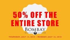 50% OFF THE ENTIRE STORE*