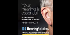 Your hearing is essential! We are open and HEAR for you.