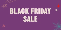 Up to 50% Off Black Friday!