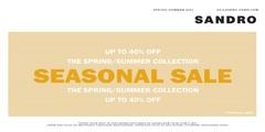 Sandro Seasonal Sale