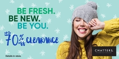 Save up to 70% on clearance!