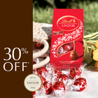 30% off When you buy 2 bags of LINDOR Truffles!