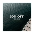 Take an additional 30% off sale styles!