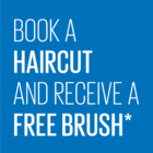 Back to School: Book a Haircut and Receive a Free Hair Brush