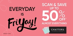 Score up to 50% off!