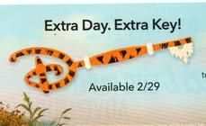 Extra Day. Extra Key!