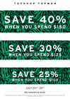 TOPSHOP/TOPMAN: BUY MORE, SAVE MORE EVENT