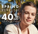 SPRING REFRESH -  40% off Your Purchase