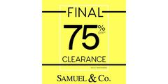 Final Clearance at Samuel & Co.!