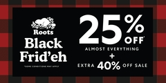 Our Black Frid'eh Sale is On!