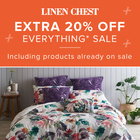 The Extra 20% Off Everything* Sale