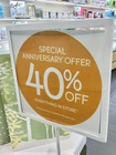 40% OFF EVERYTHING IN STORE*