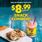 Booster Juice Combo Deal