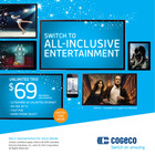 Switch to all-inclusive entertainment with Cogeco