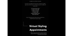 Virtual Styling Appointments Available