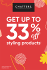 33% off Styling
