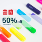 Anniversary Promotion - 50%off selected items