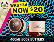 All Jumbo Body Butters NOW $20!