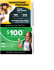 Transition Package Plus Back to School Promo