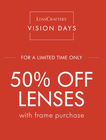 Make the Most of Vision Days at LensCrafters!