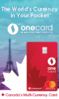INTRODUCING THE ONECARD