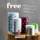 Free tin with loose leaf tea purchase